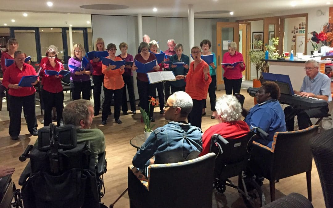 Singing Group's new season starts with a swing