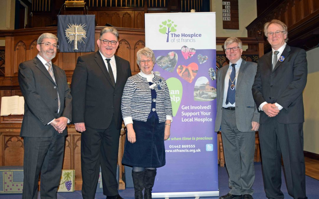Concert raises £2,500 for Hospice of St Francis