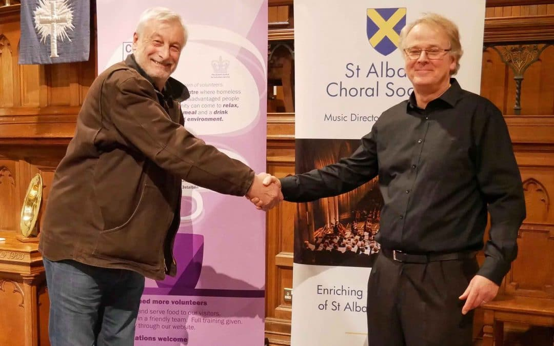 Choral Society carol-singers raise over £2,000 for charity