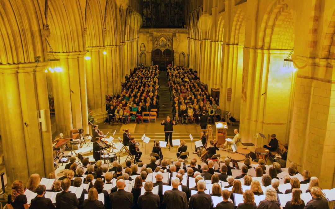 'Inspiring' 75th anniversary concert in St Albans Abbey