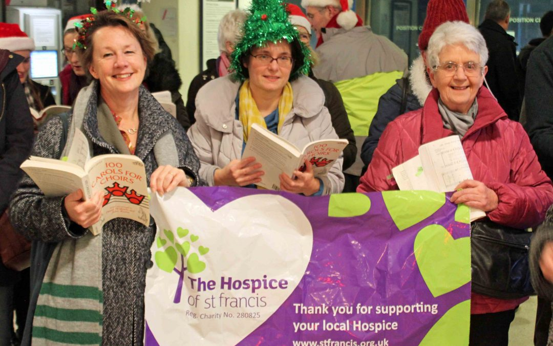 Choir raises £2,664 with singing for charities