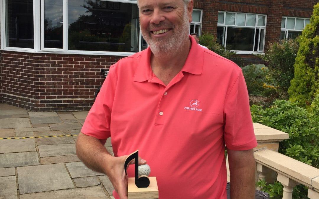 Rod Cowper wins Choir Golf Day